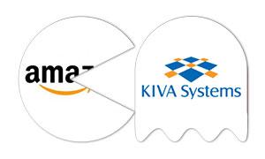 pacman se come a 6 empresas tecnologicas INFOGRAFIA amazon kiva systems