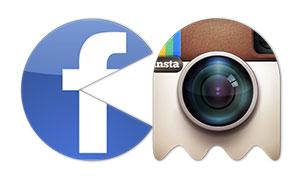 pacman se come a 6 empresas tecnologicas INFOGRAFIA facebook instagram