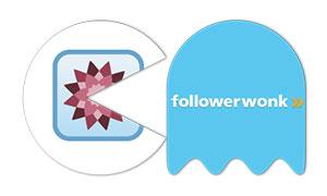 pacman se come a 6 empresas tecnologicas INFOGRAFIA seomoz followerwonk